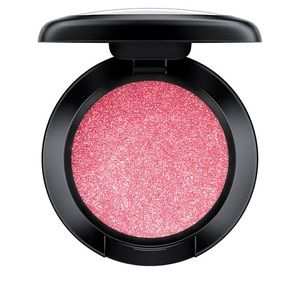 Mac Cosmetics red/orange dazzle shadow LETS ROLL